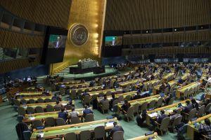 Генасамблея ООН  закликає припинити загрозливу мілітаризацію Криму