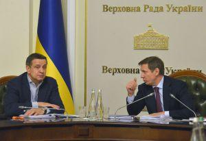 Во время расширенного заседания в Верховной Раде Украины
