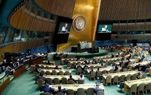 The UN General Assembly passes the second resolution on Crimea