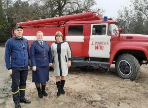 У Долматівській ОТГ розпочала чергування сільська пожежна охорона