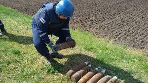 Пиротехники изъяли и уничтожили взрывоопасные предметы