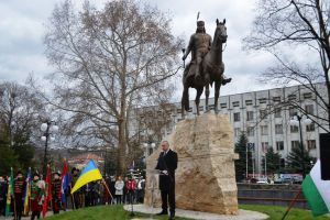У Берегово відкрито пам'ятник угорцю Ференцу Ракоці ІІ