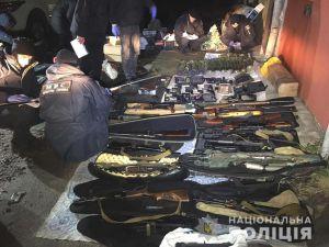В Ривненской области изъяли целый арсенал оружия