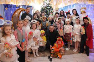 Закарпатські митники вручили дітям подарунки