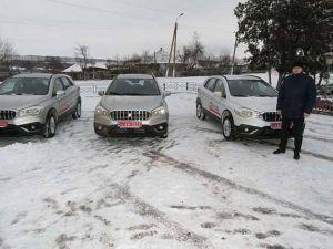 Сельские амбулатории Сумской области получили внедорожники