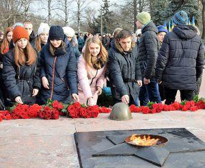 В Кропивницькому вшанували пам'ять визволителів