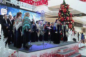 Різдвяні мелодії для покупців у Чернігові