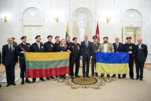 Литва пам'ятає, хто прийшов на допомогу