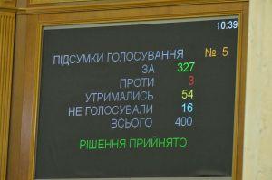 Принят законопроект о полном общем среднем образовании