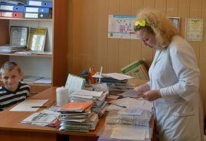 В Визирке амбулатория —  сельская, качество обслуживания —  столичное
