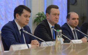 Дмитро Разумков: «Сподіваємося, що ОБСЄ зіграє ключову роль у забезпеченні реального перемир'я на сході»