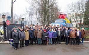 Энергетики Сумской области поставили «вышку» на пьедестал