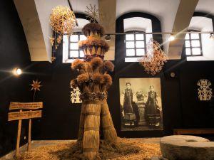 До колекції Музею Івана Гончара додався дідух заввишки понад 4 метри