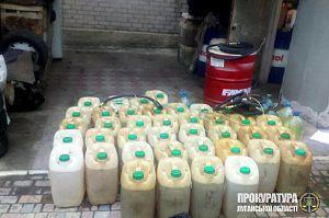 На Луганщині нелегально торгували російським бензином