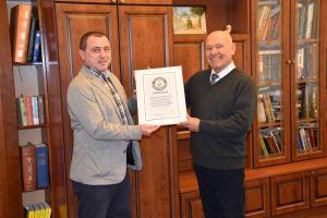 Острозька академія двічі потрапила до Книги рекордів