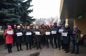 На Луганщині голодують дружини шахтарів