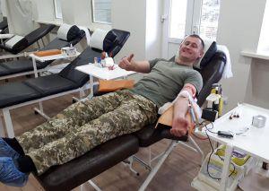 Прикордонники здали кров для потреб хворих діточок