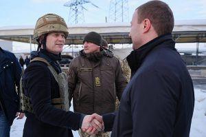 Головний дипломат Данії відвідав КПВВ «Майорське»