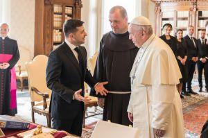 Solo el tiempo mostrará si Volodymyr Zelenskyy pudo convencer al Papa