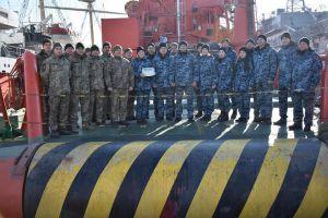 В Одесі відбувся випуск водолазів