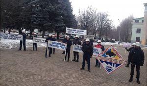 Шахтарі знову прийшли до Донецької ОДА