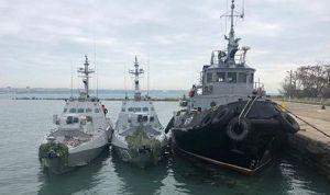 Кораблі-бранці готуються до повернення у стрій