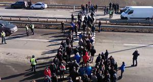 На трасі під Уманню протестувальники вимагали встановити вагові комплекси