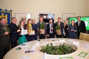 В парке 700-ления Львова будет восстановлен фруктовый сад и озеленен центр города