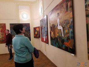 Полотна Олександра Литвинова просякнуті філософією творчості