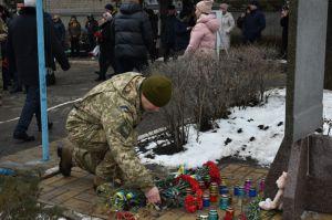 Згадали жертв обстрілу району Східний