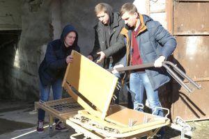 Благодійний фонд «H. O. P. E» подарував меблі для лікарень Кам'янця-Подільського