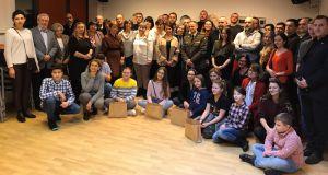 У Варшаві відзначили волонтерів за результатами  благодійної акції «Свята без тата»