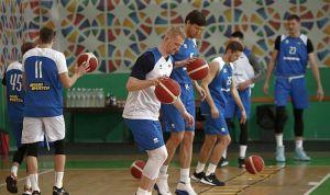 Баскетбол: Сьогодні починаємо у Граці