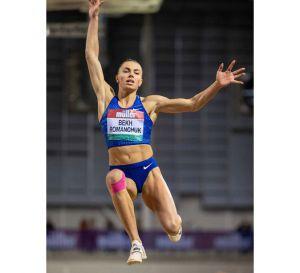 Марина Бех-Романчук перемогла в World Athletics Indoor Tour