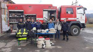 До закарпатських рятувальників німці приїхали з подарунками