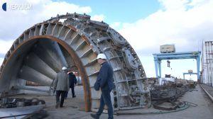Об обновлении гидроузлов на Каневской ГЭС