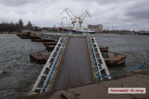 Пошкоджений міст через річку Інгул відновлять за місяць