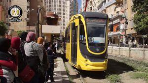 Наші трамваї колесять вулицями Єгипту