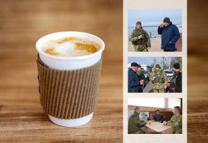 «Зелені берети»  запроваджують  спілкування  за філіжанкою кави