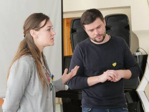 В Краматорске представили ленту о языке
