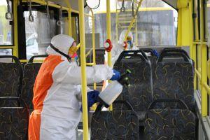 У Херсоні тролейбуси потрапили під дезінфекцію