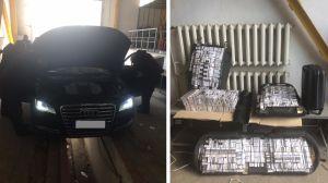 На Закарпатті знайшли контрабанду в авто дипломата
