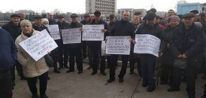 Чернобыльцы против закрытия диспансера