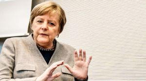 Канцлер ФРН Ангела Меркель: «Грошей на боротьбу з вірусом не шкодувати!»