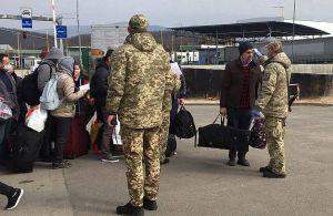 Українці перетинають словацький кордон у пішому порядку