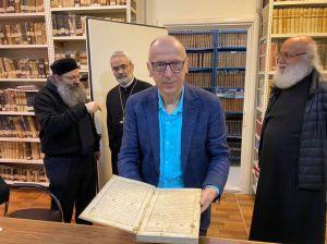 Найденное в Ливане Евангелие от Мазепы переиздадут