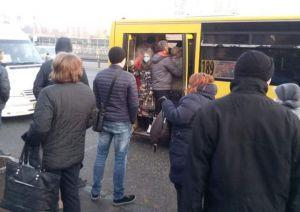 Київ: Штурм автобусів  і тролейбусів