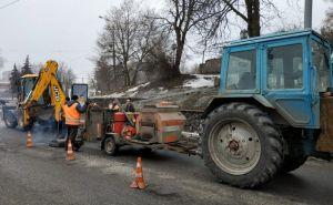 Ремонт дорог в Сумах идет по плану