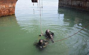 Идет подготовка противодиверсионного подводного подразделения