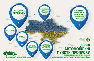 З 7 квітня держкордон України можна буде перетнути лише автотранспортом